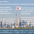 Wayfarer Internationals Container Ad