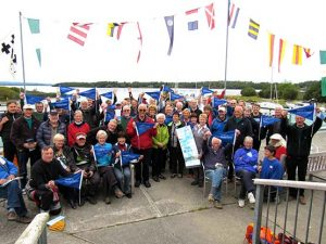 Ralliers at Lough Derg YC 2015
