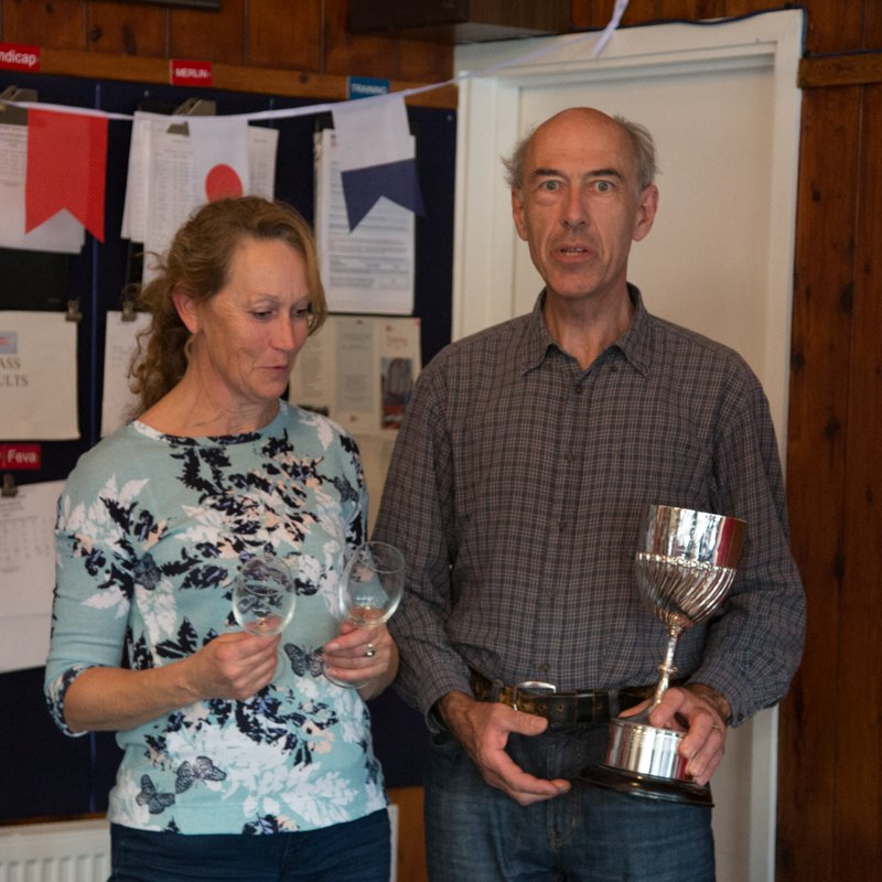 Andrew Wilson wins the Upper Thames Splashaway Trophy – NC7