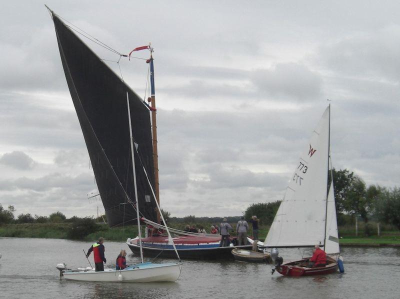 Photo of wherry Albion on Norfolk Broads